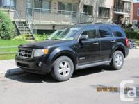 2008 Ford Escape XLT fully loaded v6 auto 4x4   189,000