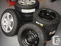 WINTER TIRE PACKAGES Example: Ford Escape, P235/70R16