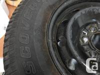 Set of 4 Tires Cooper Discoverer M+S Winter Tires -