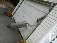 Selling stainless steel catback exhaust with chrome