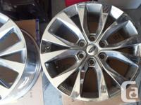 "We have a set of 4 Ford F150 20"" rims in great"