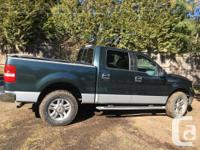 Make Ford Model F-150 SuperCrew Year 2004 Colour Olive