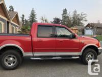 Make Ford Model F-150 SuperCrew Year 2003 Colour Red