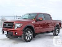 Make. Ford. Version. F-150 SuperCrew. Year. 2014.