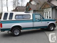 Make Ford Model F-150 Year 1996 Colour Green Gray kms