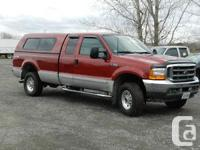Make Ford Model F-250 Super Duty Year 2001 Colour Red