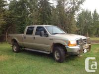 2001 Ford F350 Lariat SuperDuty; V8 7.3 L power