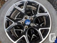 """4x Ford Focus 17"""" OEM Sport Rims, great condition with:"""