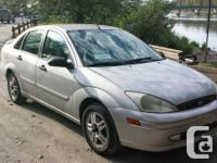 Up for Sale is a 2000 Ford Focus I bought a years ago