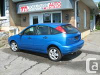 Make Ford Model Focus Year 2007 Colour BLUE kms 184000