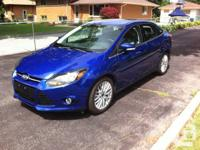2014 FORD FOCUS TITANIUM.  2.0 Liter, 4 Cyl. Engine