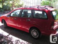 Make Ford Model Focus Year 2007 Colour red kms 185000