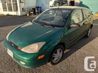 Make Ford Model Focus Year 2003 Colour Green kms