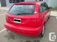 Make Ford Model Focus Year 2005 Colour Red kms 222500