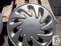 (2) Ford Hubcaps as shown in photos. Ford Part