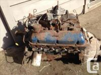 1965 - 67 Ford 289 engine and automatic transmission.
