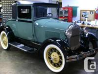 Make Ford Model Model T Year 1927 Colour For Model A