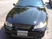 1999 Mustang SVT Cobra  with extras and less than