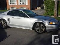2000 Ford Mustang GT. I put in a new rebuilt original