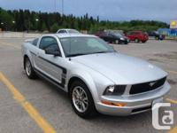Available for sale a 2005 Ford Mustang, V6, 4.0 L, 5