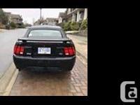 Make Ford Model Mustang Colour Black Trans Manual Black