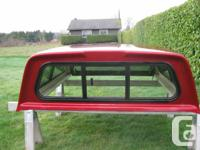 "2011 Ford Ranger short bed canopy, 75"" long, tinted"