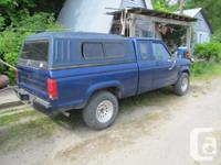 Make Ford Model Ranger Year 1989 Colour Blue kms