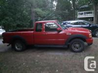 Make Ford Model Ranger Year 2007 Colour Red kms 220000