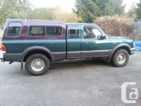 Make. Ford. Model. Ranger. Year. 1998. Colour.