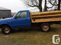 Make Ford Year 1997 Colour blue 1997 Ford Ranger, V6,