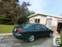 Make Ford Model Taurus Year 2000 Colour Green kms