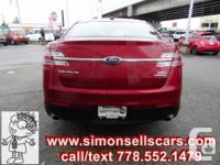 Make. Ford. Design. Taurus. Year. 2014. Colour. RED.