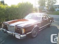Make. Ford. Model. Thunderbird. Year. 1979. kms.