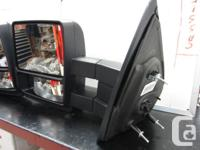 Large extendible Tow mirrors Will fit Ford F150