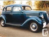 Make. Ford. Year. 1936. Colour. Blue. Trans. Manual. An