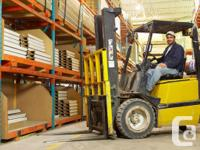 FORKLIFT OPERATORS ARE IN HIGH DEMAND. WOULD LIKE TO