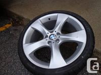 "Four 20"" Brand NEW Style 311 - BMW F25 (X3) - Runflat"