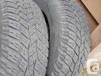 All terrain tires 90 percent tread almost like new