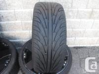 FOUR (4) 20 INCH TIRES ON RIMS SIZES (2) ARE