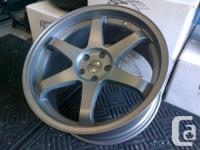 "Four Brand NEW 20"" FAST Hayaku - Volks TE37 Reps 20x9.5"