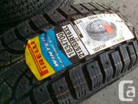 Four brand new 215/55/R16 Pirelli Winter Carving Edge