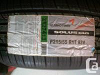 Four Brand NEW 215/55R17 KumhoSolus KH25 All Season