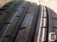 Four brand new 225/45/R17 Continental SportContact SSR