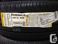 Four Brand new 225/60/R18 Continental ContiProContact