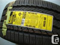 Four Brand New 245/40/17 Dunlop All Season Tires !!
