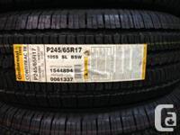 Four Brand new 245/65/R17 Continental ContiTrac TR