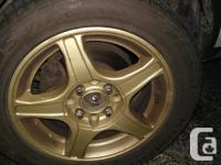Set of 4 Kumho Solus Vier all weather tires in very