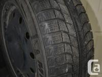 Michelin X-Ice are top-rated winter tires. These are