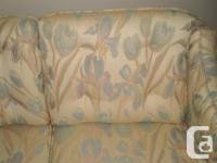 This couch was custom hand made by Cramer's Fine