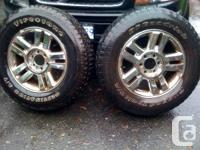 Four  tires for sale(M+S)275/65R18  (2 Firestone 90%)(2